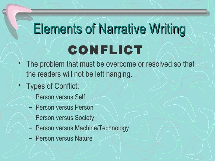 elements of a good narrative essay Elements of drama: characters, plot this means the characteristics that make for an engaging story usually make for a good narrative essay as well.