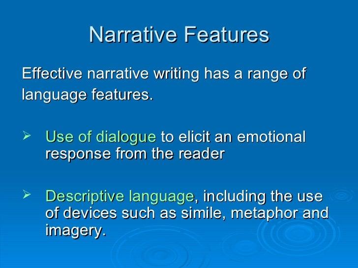 key features of descriptive essay