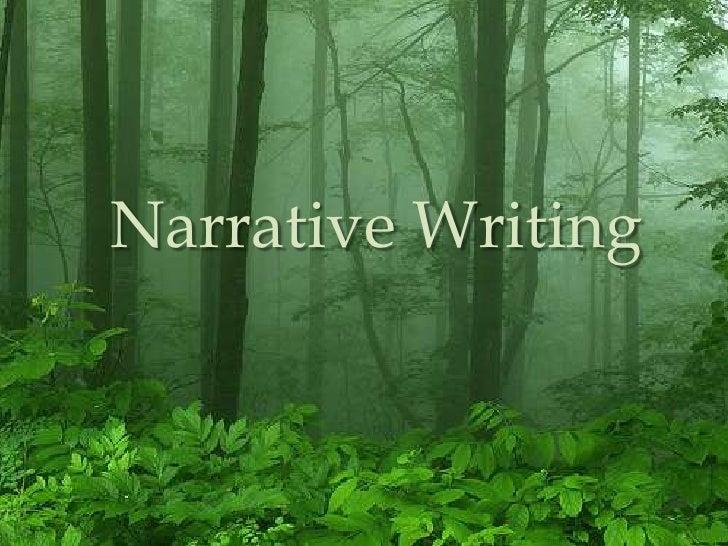 Narrative Writing<br />