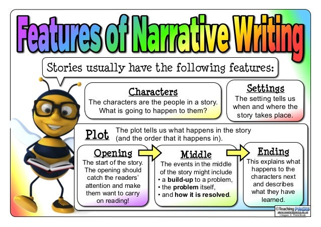 features of story writing