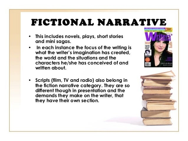 What is fictional narrative essay?