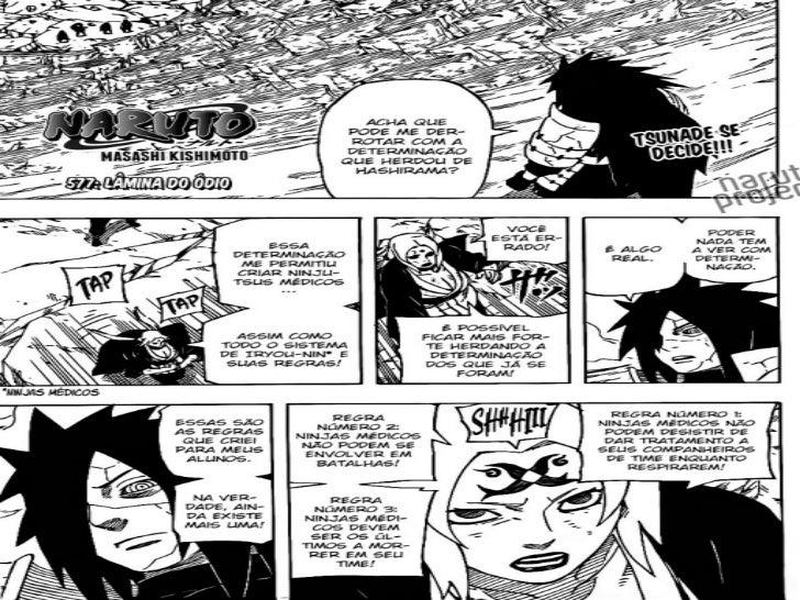 Naruto Capitulo 577 Mangá em Português