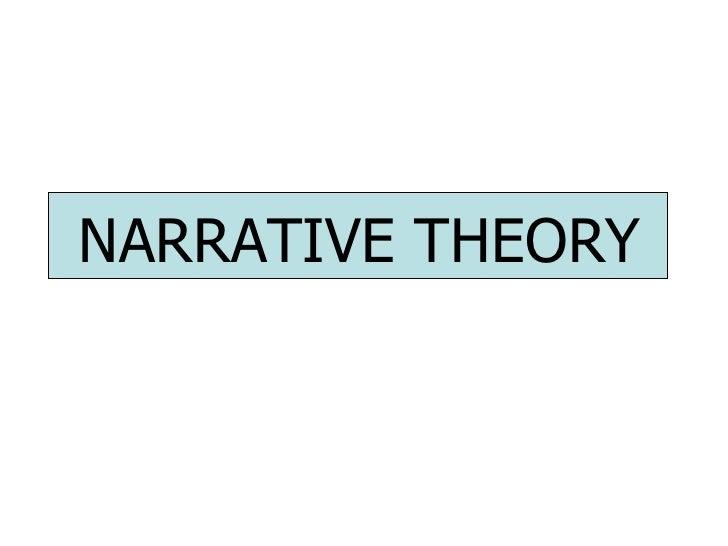 Applying Narrative Theory to your Work