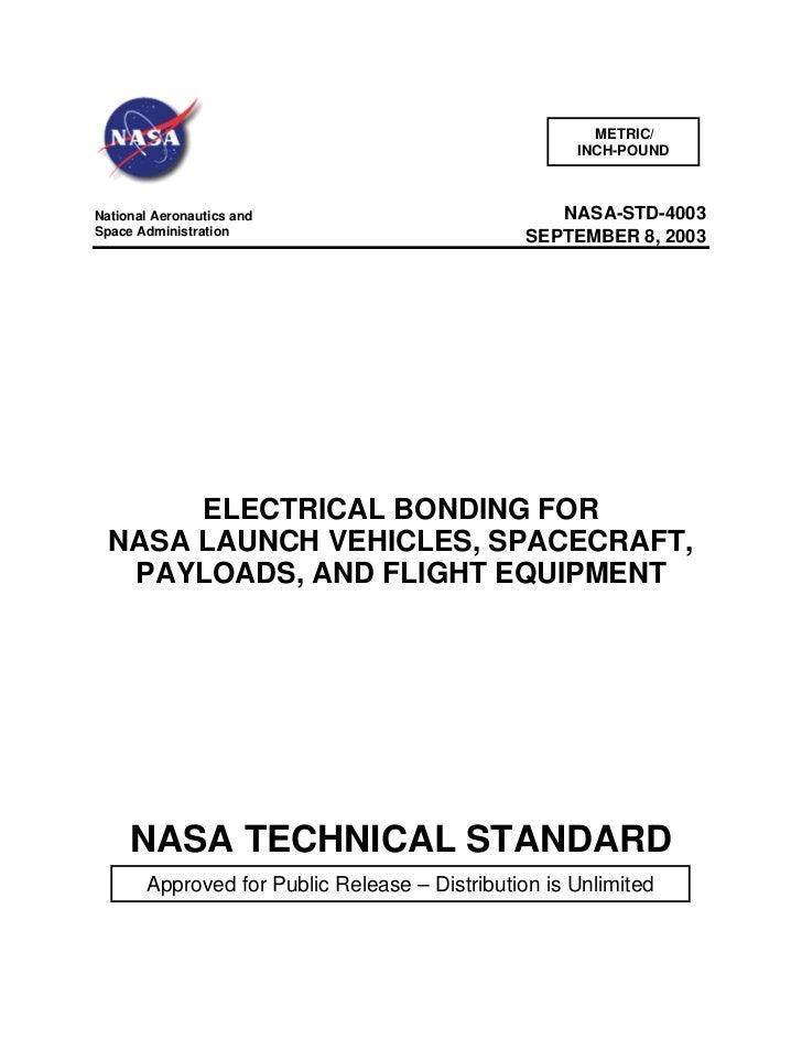 METRIC/                                                     INCH-POUNDNational Aeronautics and                           N...