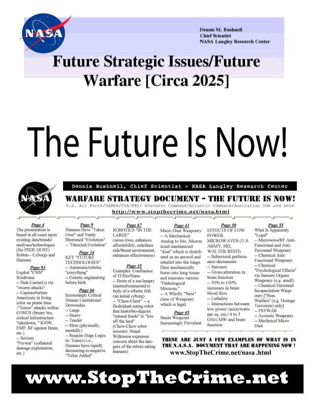 Nasa the futureof war