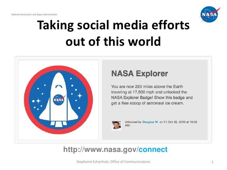 NASA and social media