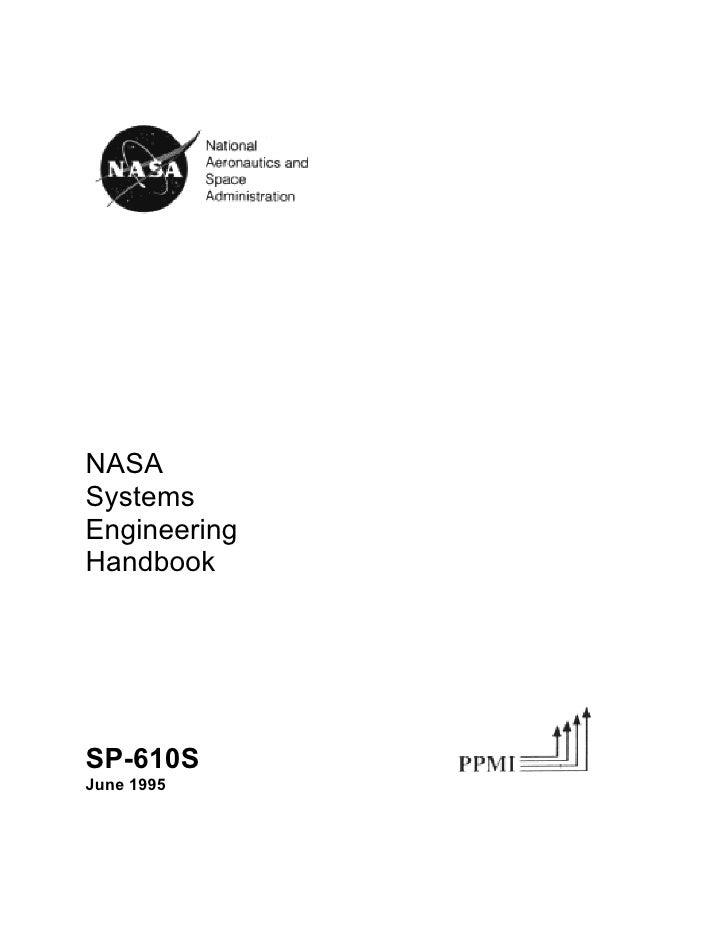 NASASystemsEngineeringHandbookSP-610SJune 1995