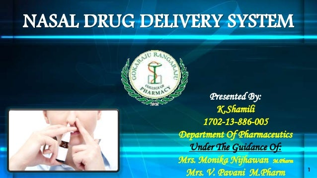 Presented By: K.Shamili 1702-13-886-005 Department Of Pharmaceutics Under The Guidance Of: Mrs. Monika Nijhawan M.Pharm Mr...