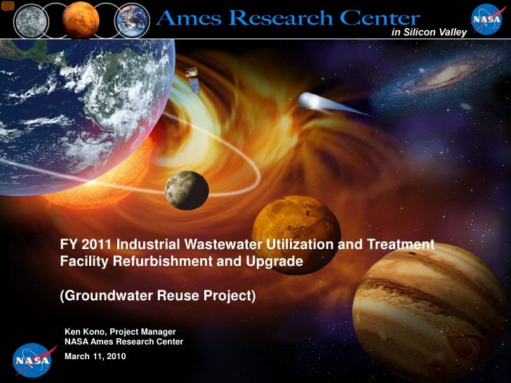 FY 2011 Industrial Wastewater Utilization and Treatment Facility Refurbishment and Upgrade