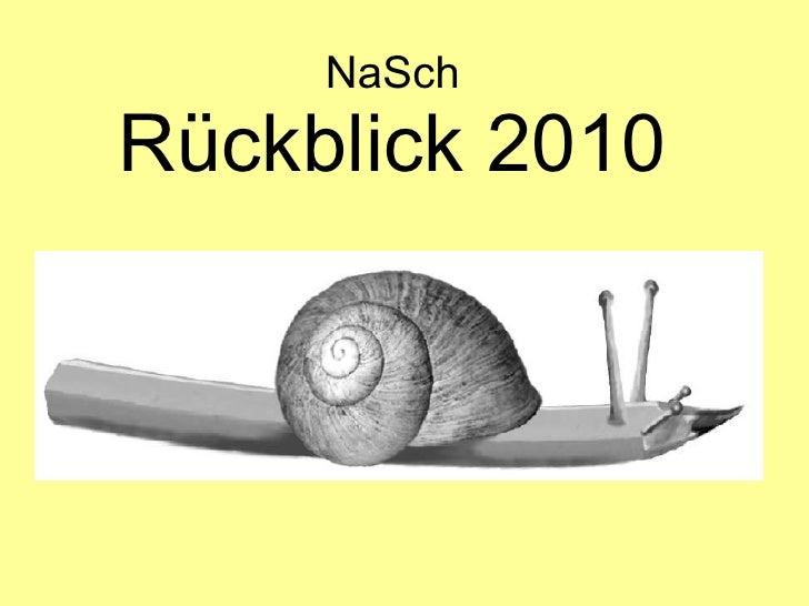 NaSch Rückblick 2010