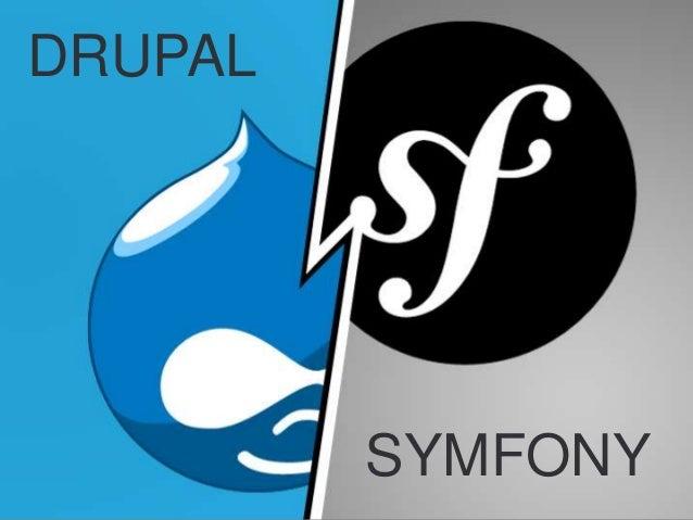 Nascom update 1 - Recent realisations in Drupal & Symfony