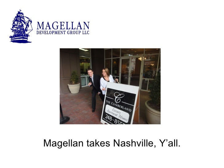 Magellan takes Nashville, Y'all.