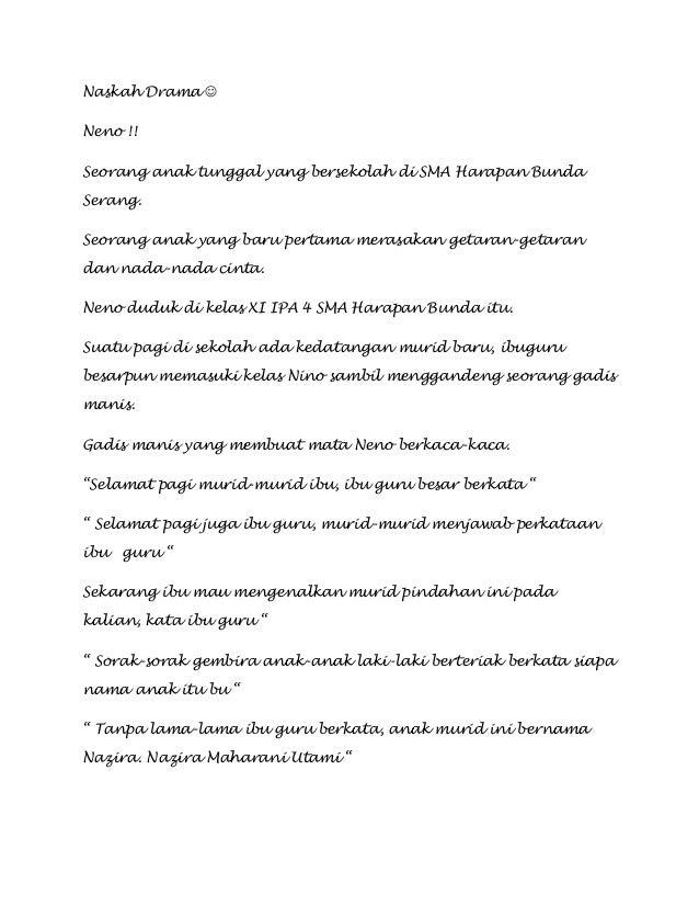 Naskah drama by Gusti Ayu Anissa Noorfaidah