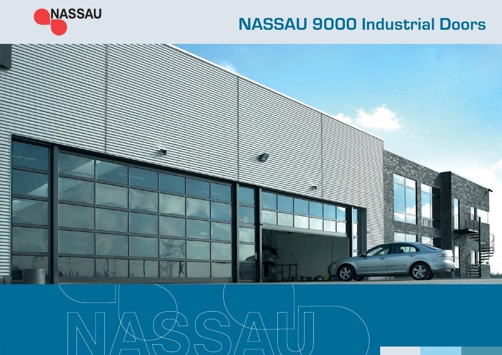 NASSAU 9000 Industrial Doors