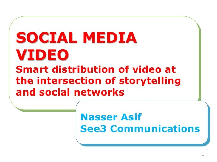Nasser Asif, See3: Social networks provide nonprofit communicators with a powerful tool to distribute their most impactful content: video.  This session will highlight strategies and tactics for using social channels to maximize the power of your videos,