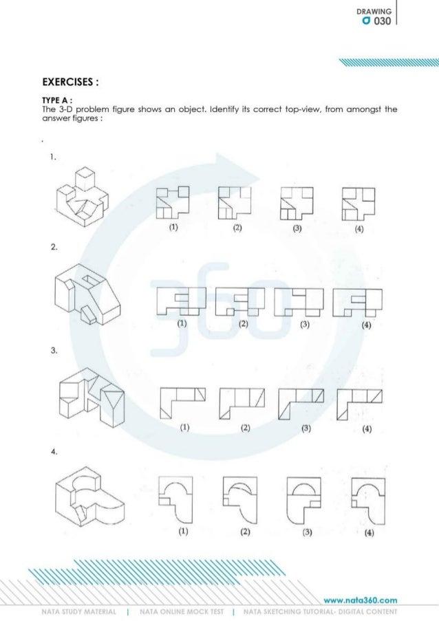 NATA Study Materials | Pahal Design
