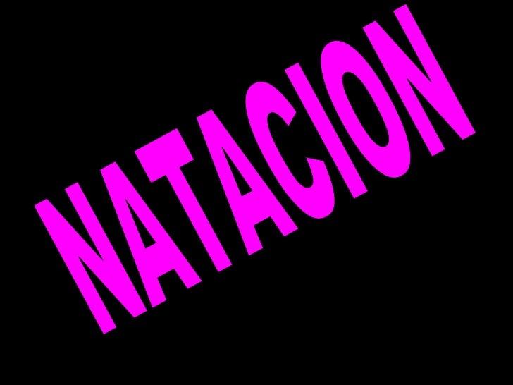 ***Natacion***