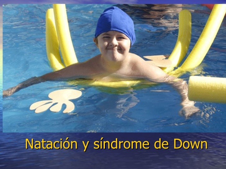 Natación y síndrome de Down
