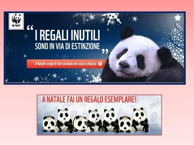 Il Natale sta arrivando e i regali inutili sono in via d'estinzione.  Scopri il Natale WWF!