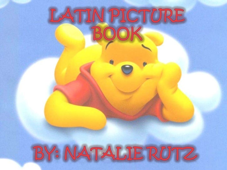 Latin Alphabet Book