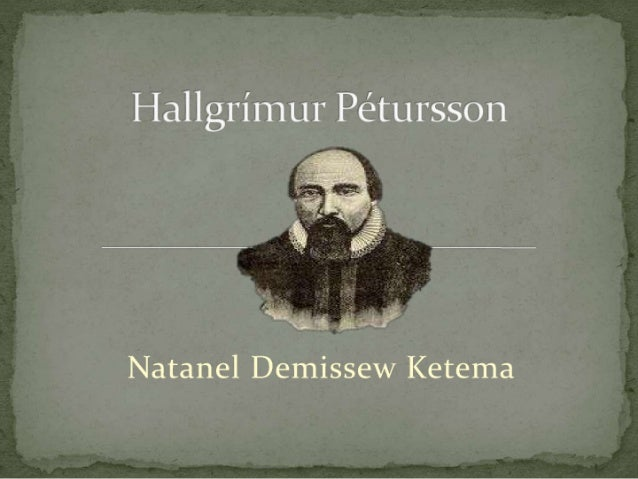 Hallgrímur Pétursson