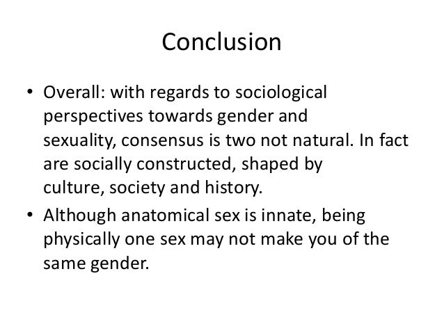 gender essay conclusion