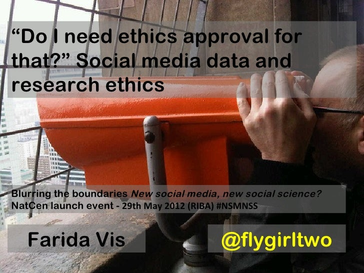 """Do I need ethics approval forthat?"" Social media data andresearch ethicsBlurring the boundaries New social media, new soc..."