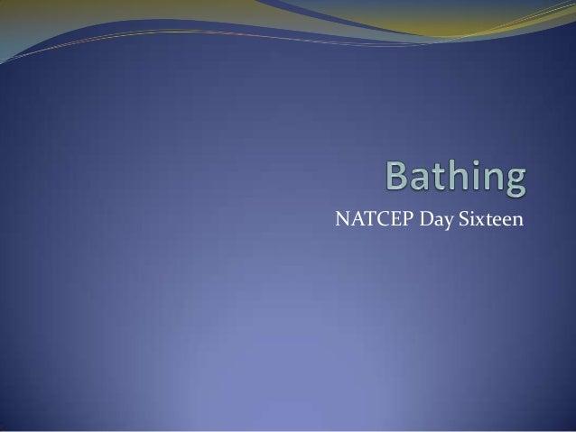 NATCEP Day Sixteen