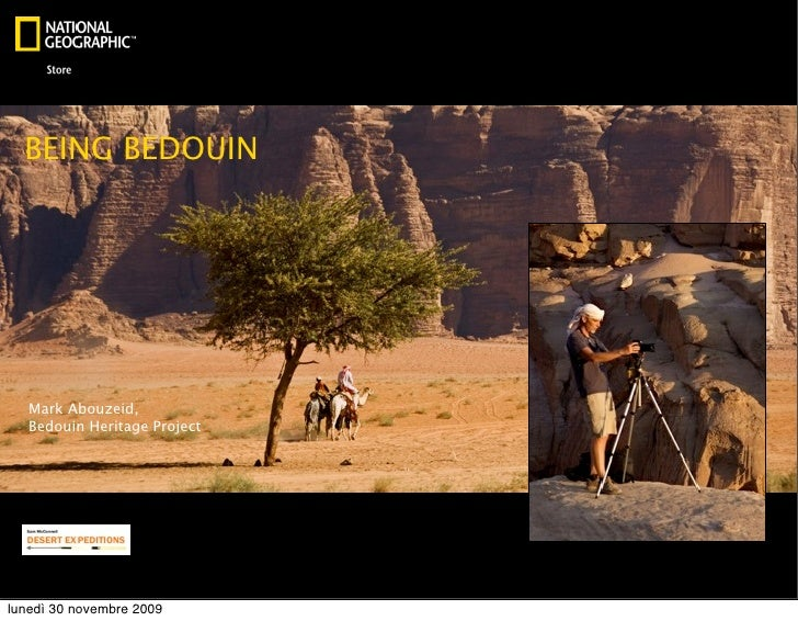 Being Bedouin at NatGeo