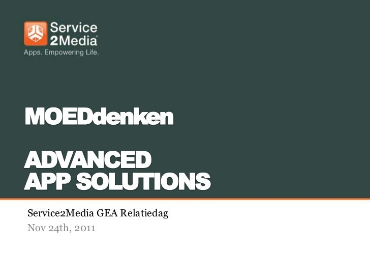 Service2Media GEA RelatiedagNov 24th, 2011
