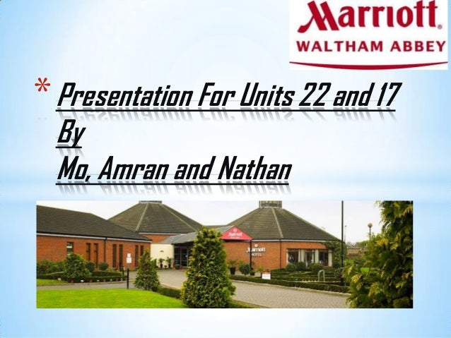 *Presentation For Units 22 and 17 By Mo, Amran and Nathan
