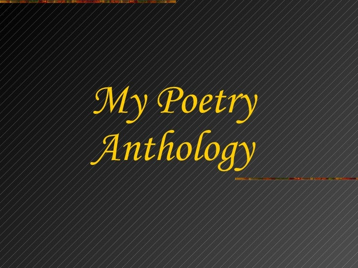 Nathan\'s Poetry Anthology