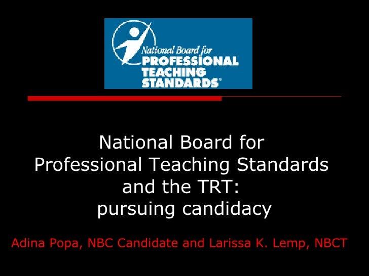National Board1VSTE2008