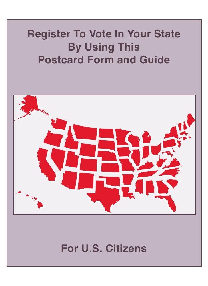 National Voter's Registration Act