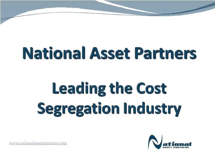 National Asset Partners     Cost Segregation Experts