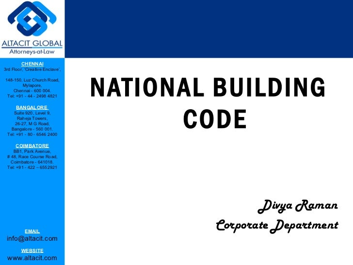 building codes essay