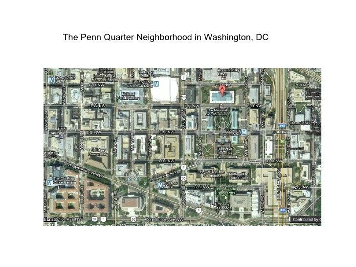 The Penn Quarter Neighborhood in Washington, DC