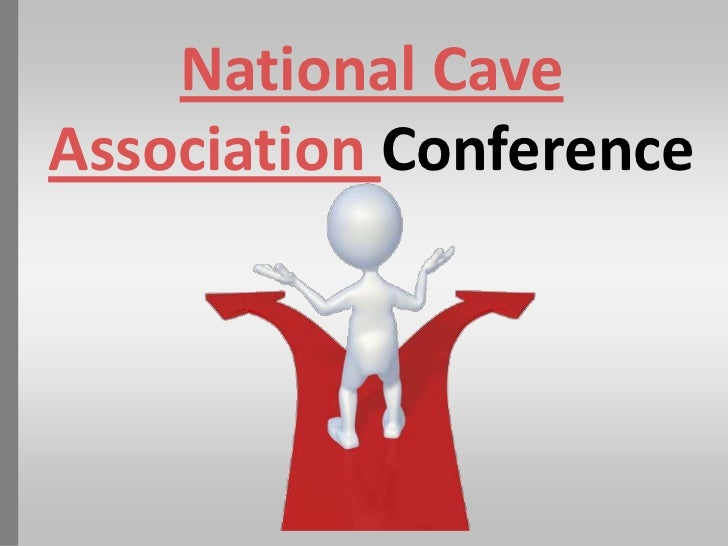 National cave association online