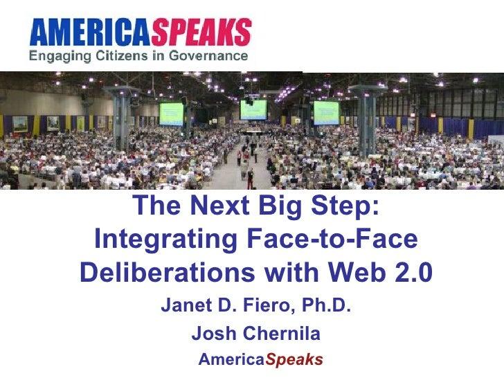 National Civic Summit   America Speaks   Josh Chernila
