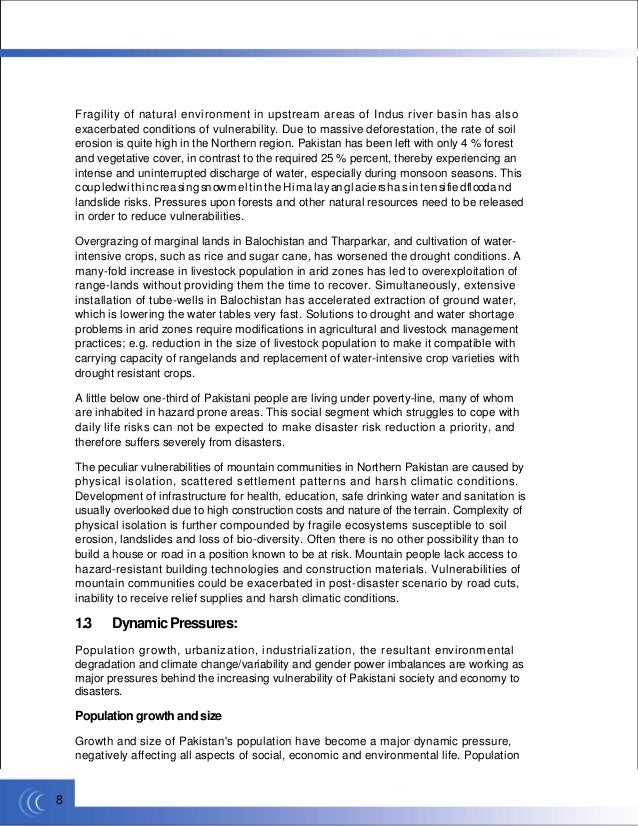 disaster management pakistan essay India has been traditionally vulnerable to essay on disaster management in india 2013 disaster on account disaster management in pakistan on 26th october this.