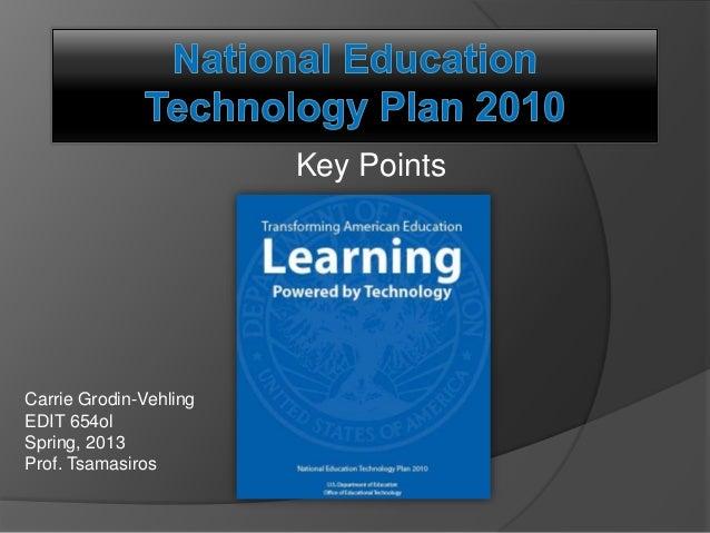 National Education Technology Plan 2010