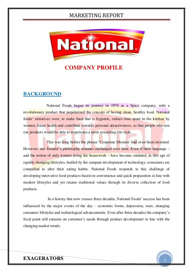 national foods swot National foods limited located in harare, zimbabwe national foods limited address, phone number, email, reviews and photos see the complete profile on zimbabwe business directory.