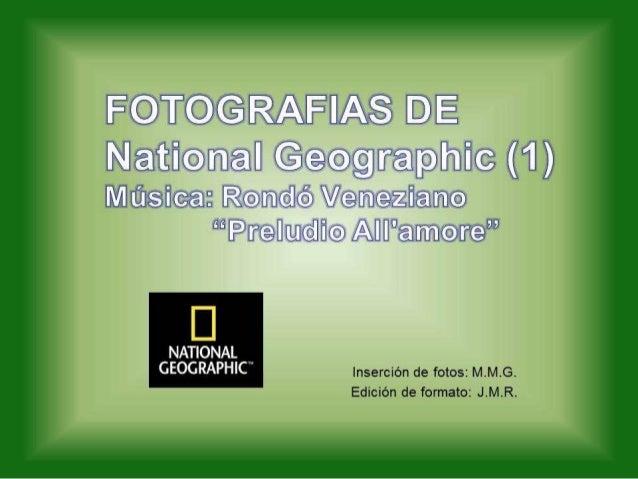 Fotos de National geographic...