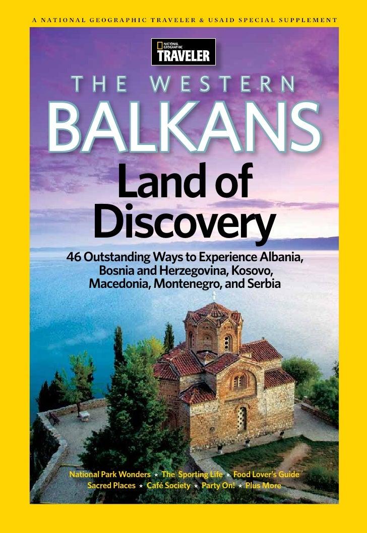 National Geographic Traveler Westernbalkans  Sandra Djurbuzovic