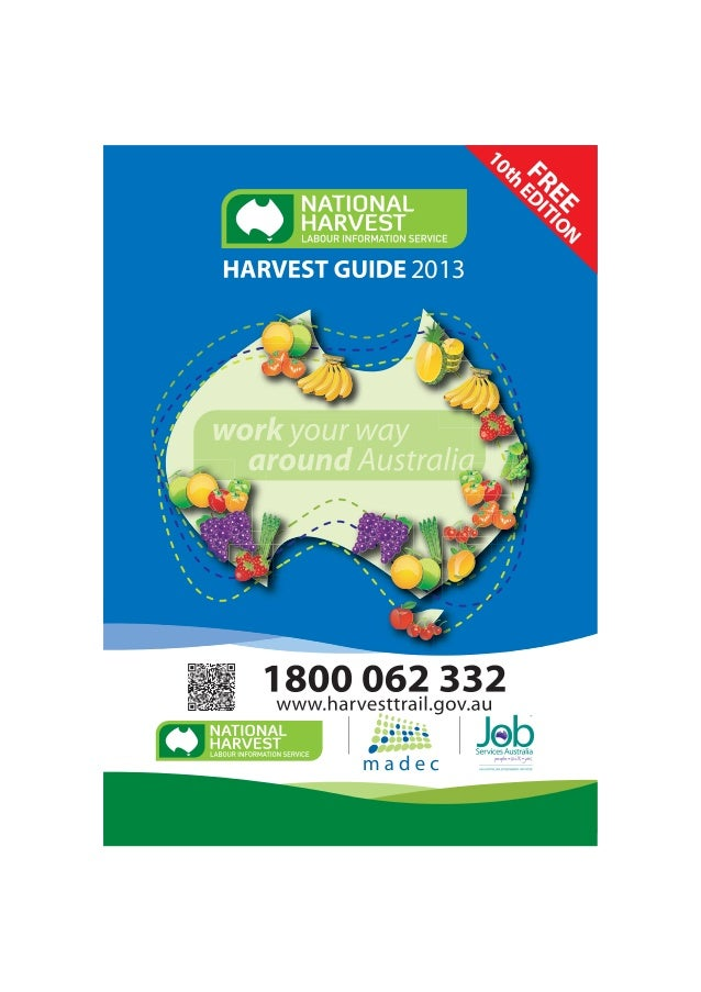National Harvest Guide 2013