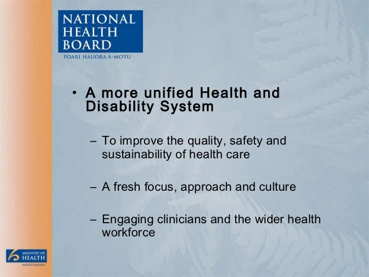 National Health Board: Priorities and Directions