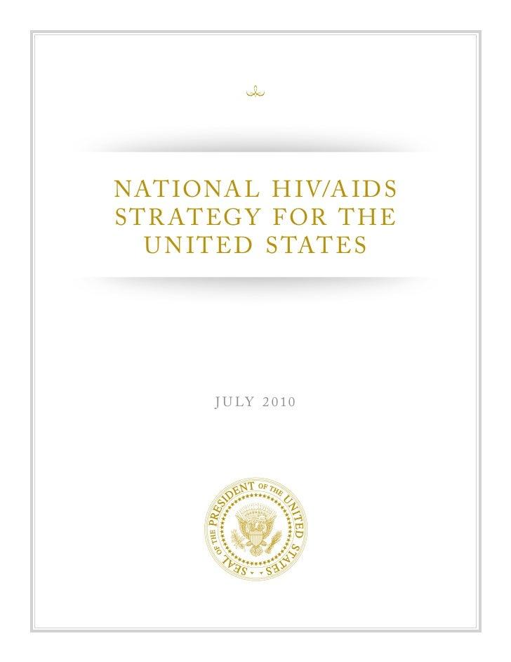 National hivaids strategy