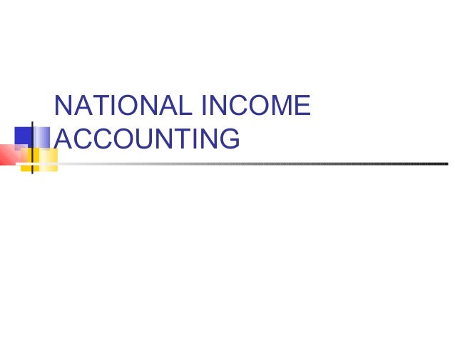National+income+accounting 1
