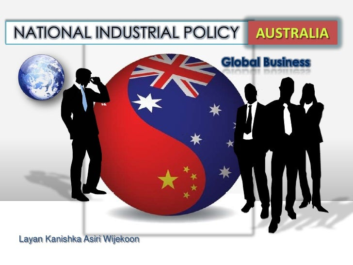 National industrial policy Australia