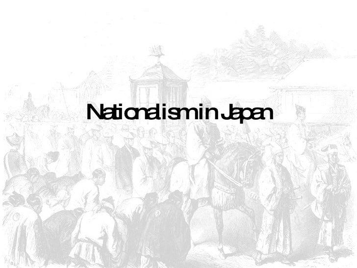 Nationalism in Japan